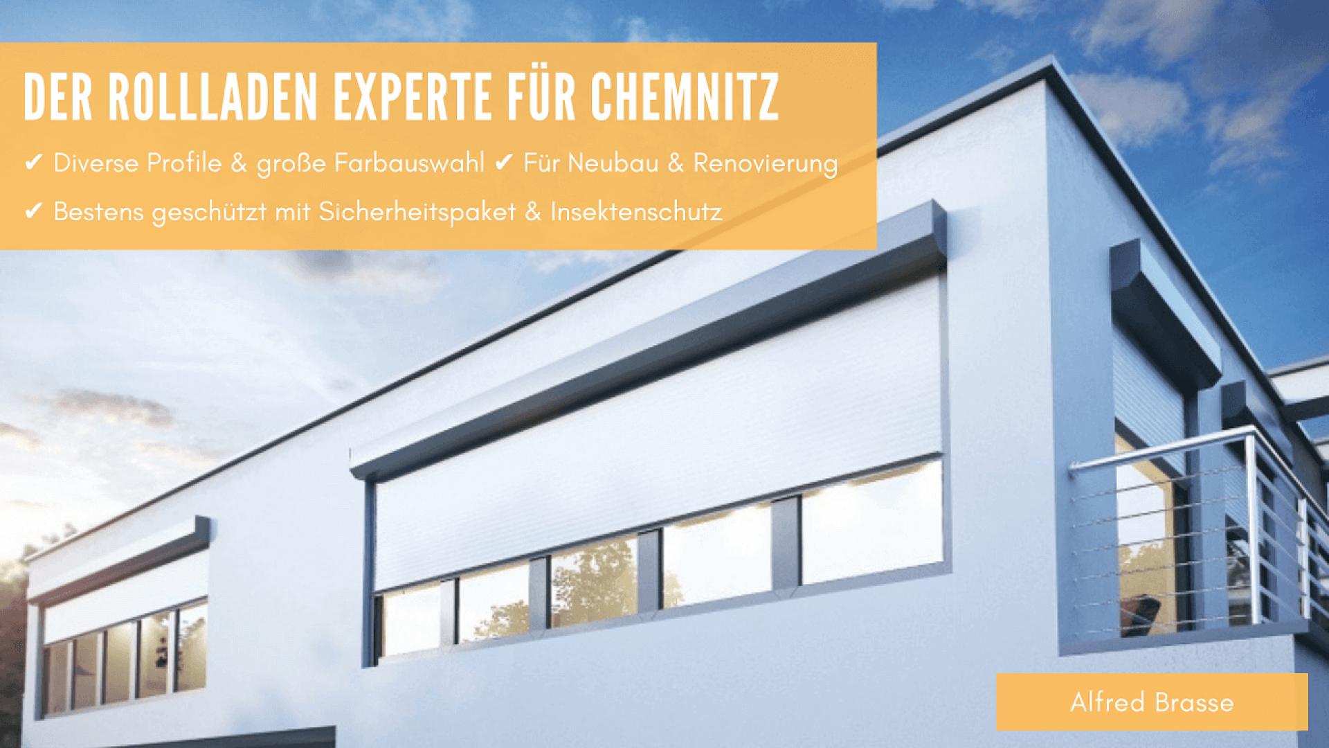 Rollladen vom Rollladenbau Experten in Chemnitz